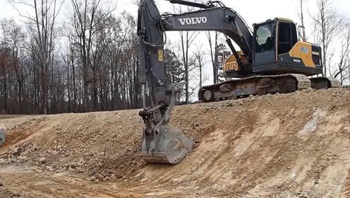 挖掘机修坡的技术点-----四川挖掘机维修