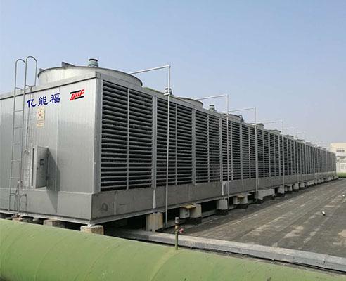 暖通闭式冷却塔空调项目