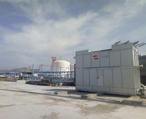 某化工项目的闭式冷却塔