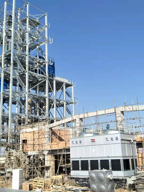牡丹江某化工厂安装现场