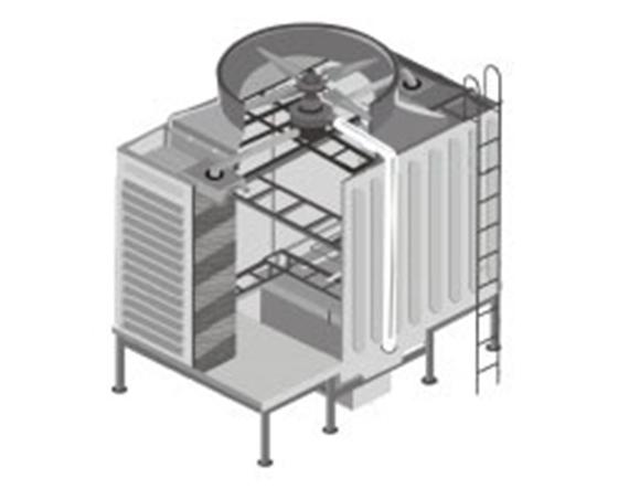 閉式冷卻塔與開式冷卻塔的工作原理是什么?