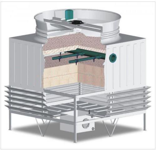 安裝玻璃鋼冷卻塔前需要做哪些準備