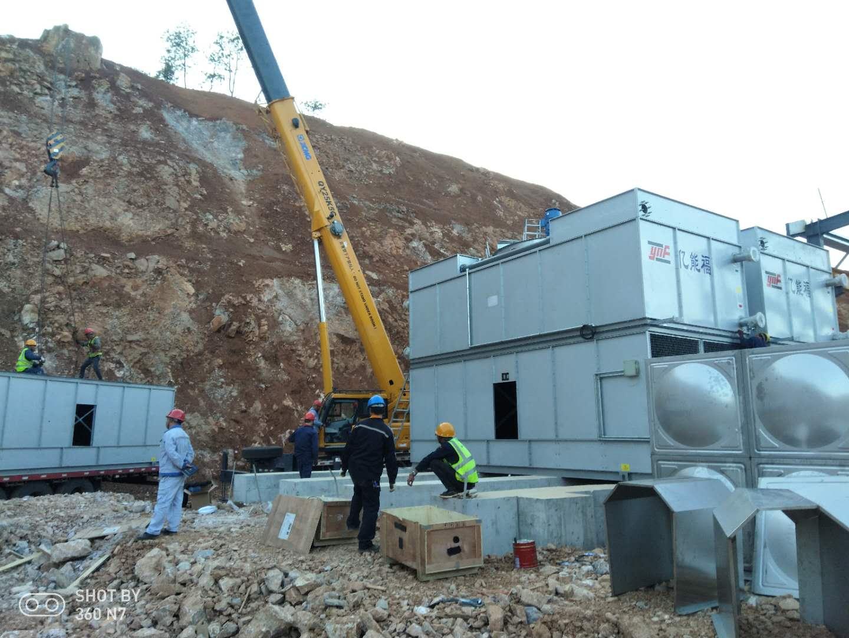 云南文山某铝业项目安装现场