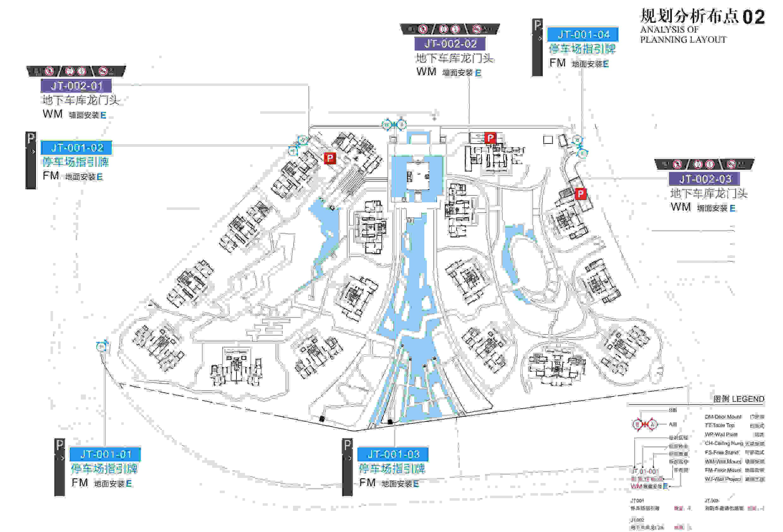 金融岛规划设计地上停车场