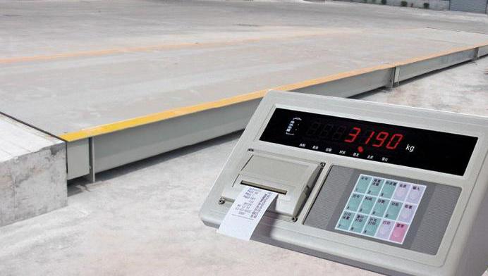 地磅仪表器