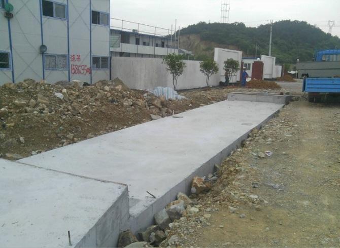 众恒自控与唐河某砂场合作使用地磅工程案例