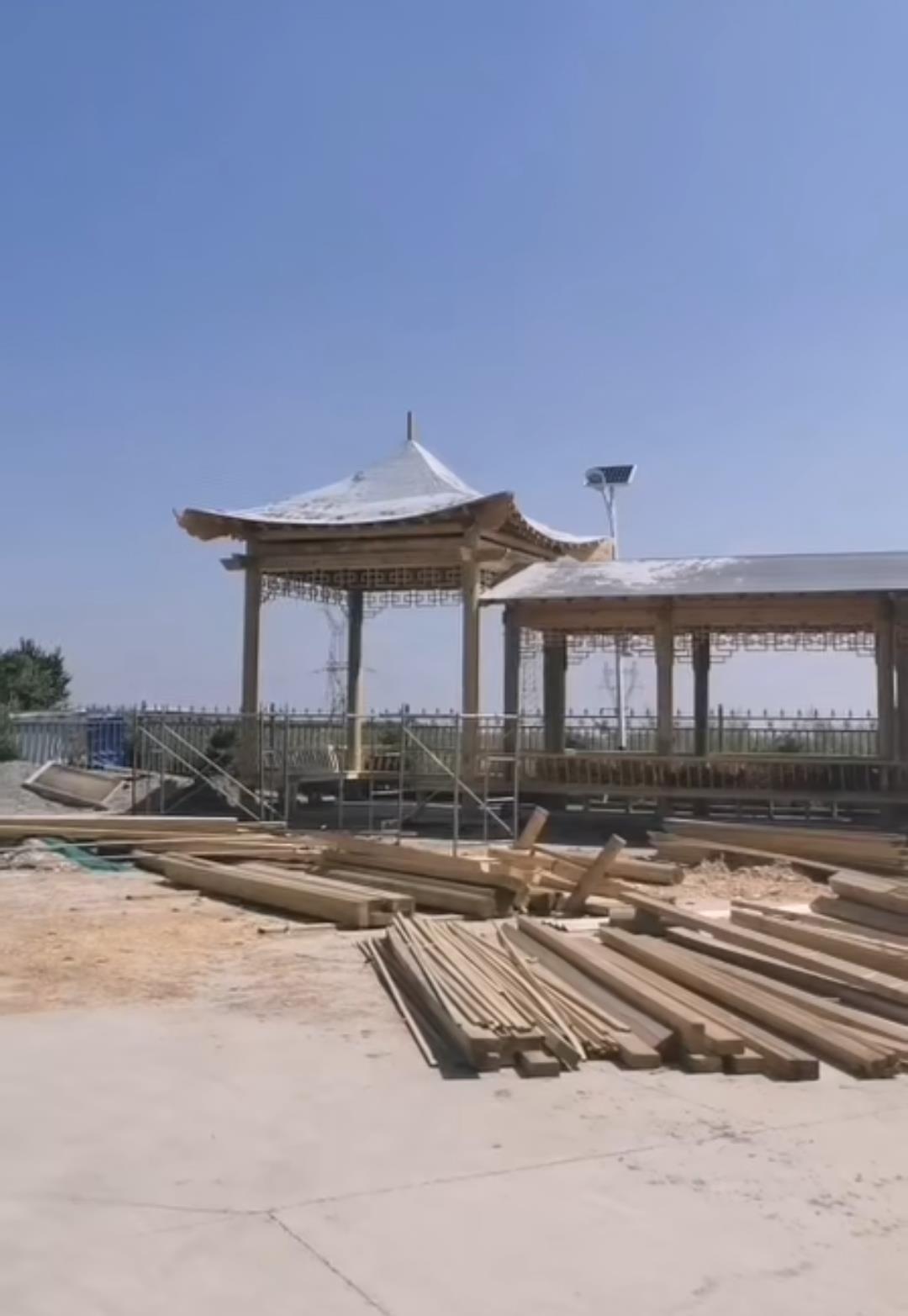 蘭州市蘭山防腐木工程