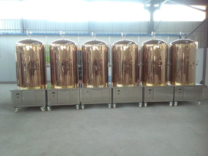 源鑫啤酒設備展示