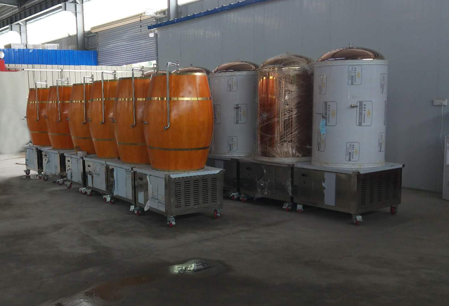 源鑫多個啤酒設備廠房生產展示