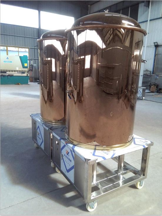源鑫啤酒设备生产厂房展示