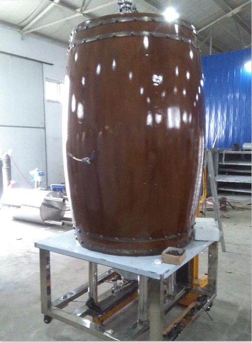 自酿啤酒设备展示
