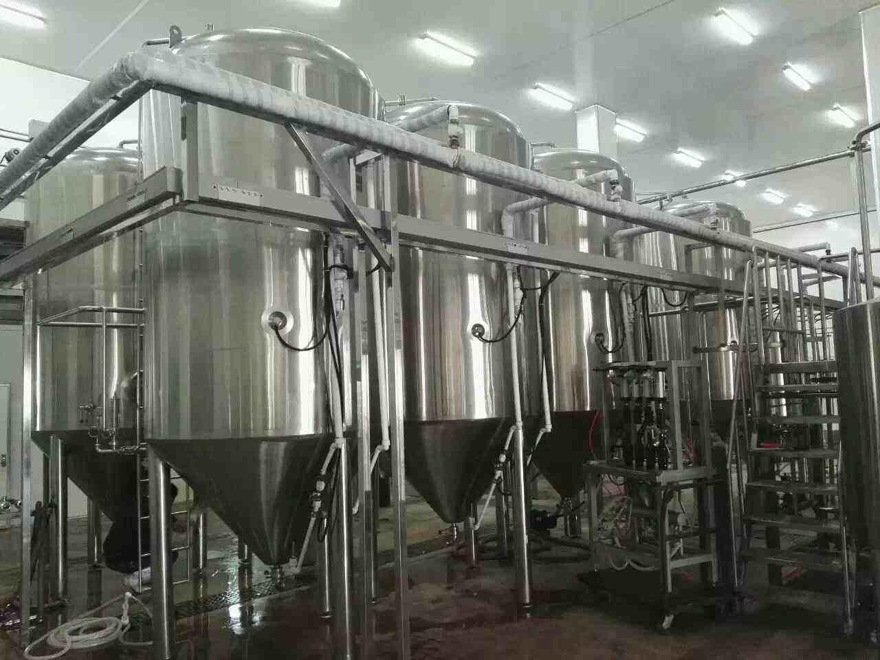 清洁啤酒设备