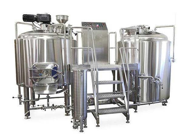 精釀啤酒設備---兩罐三器