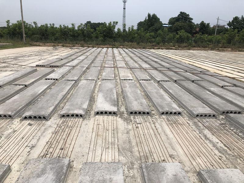 水泥预制板生产厂区