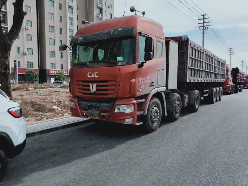 水泥制品运输车