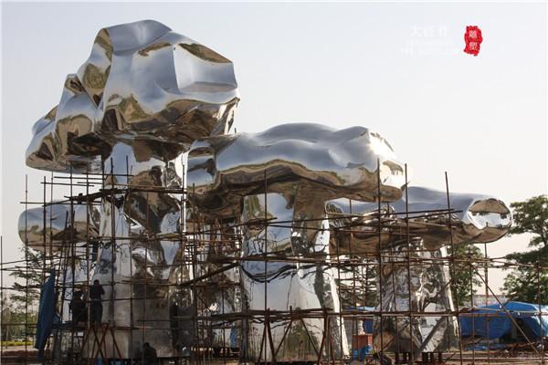 成都不锈钢雕塑厂家
