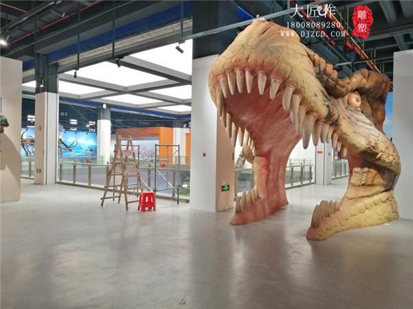 成都室内动物园景观雕塑