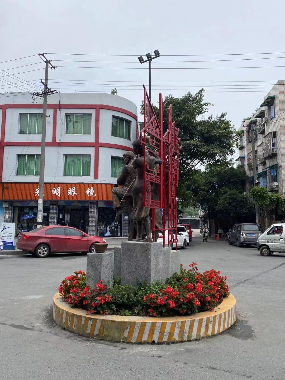 四川铸铜雕塑案例