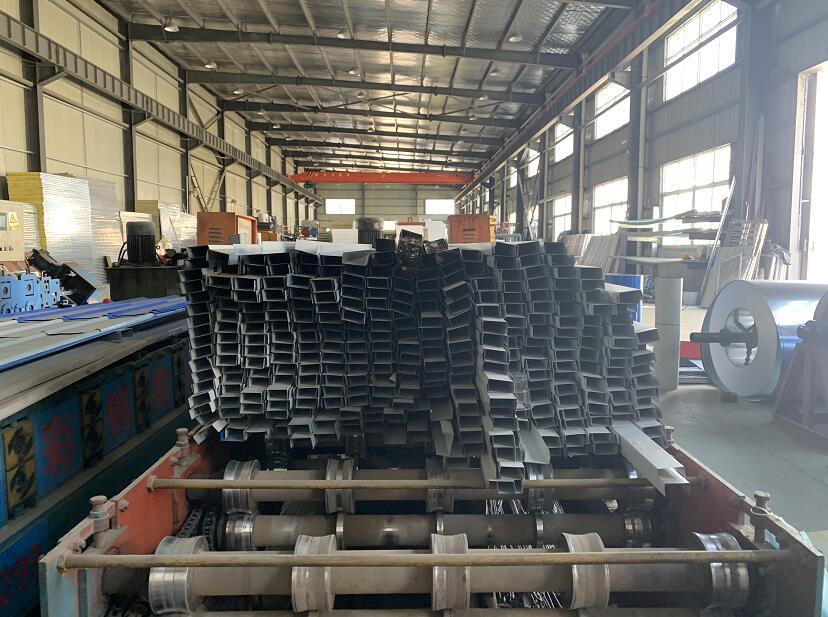 广广彩钢厂房展示
