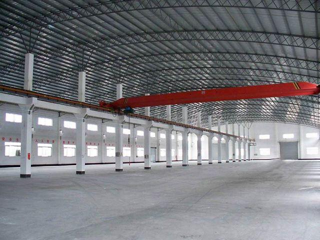 襄阳彩钢结构厂房_防水抗压强大结构厂房安装