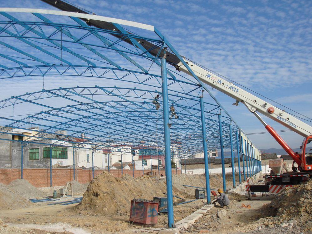 二手轻钢结构厂房