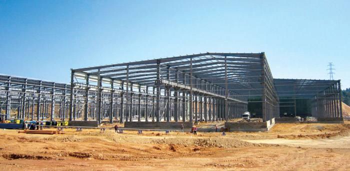定制钢结构厂房