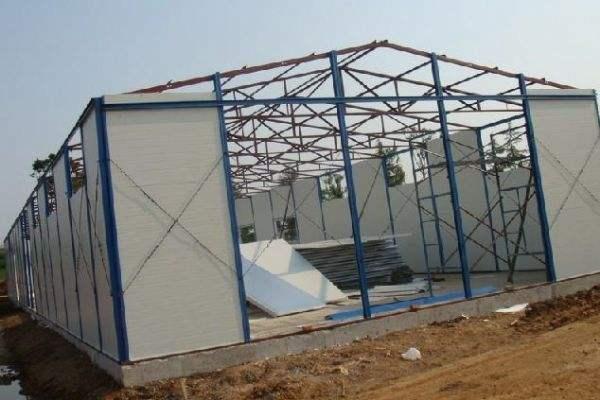 单层彩钢住人活动板房