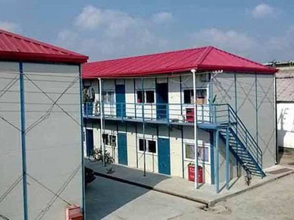 两层建筑彩钢活动房