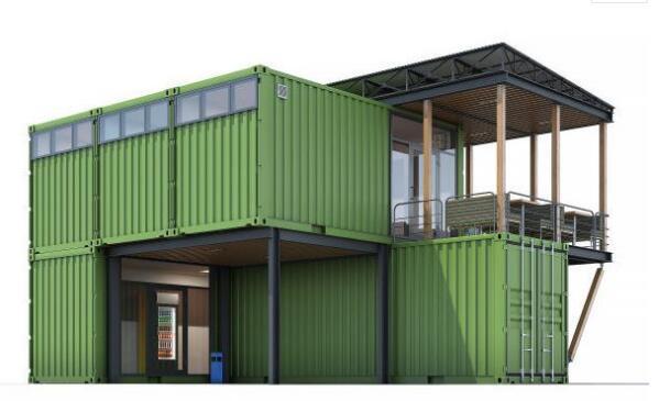 在集装箱建筑的使用热潮下,集装箱房屋存在哪些问题