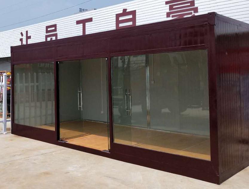 玻璃钢制便捷式办公集装箱房