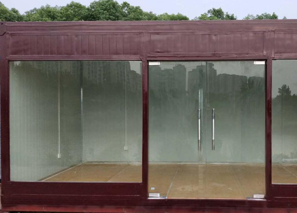 美观的彩色玻璃钢集装箱 友源厂家定制