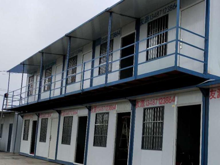 宇昂生物科技公司工地的工人宿舍