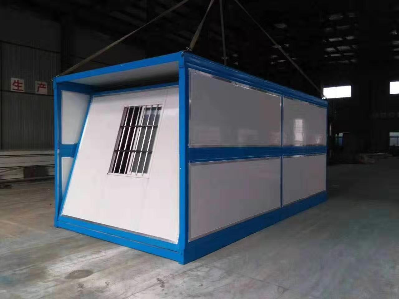 便捷式折叠式集装箱