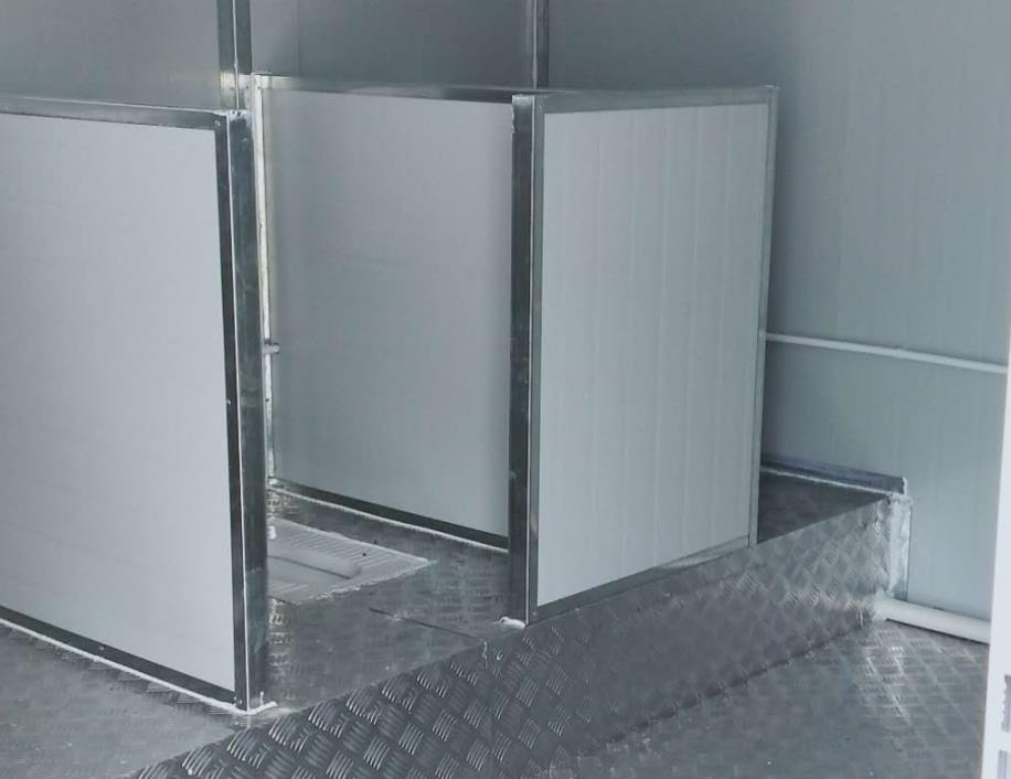 灵活便捷的集装箱厕所  易清洁维护