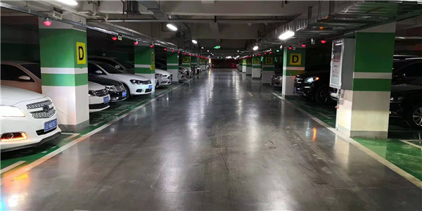 贵阳商业停车场车位引导案例