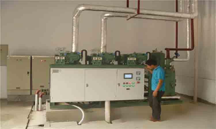 保鲜冷库中常见的制冷压缩机其工作原理说明