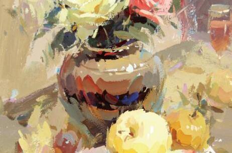 兰州美术培训班经典色彩作品