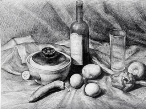 美术培训,关于人物绘画要注意的细节点