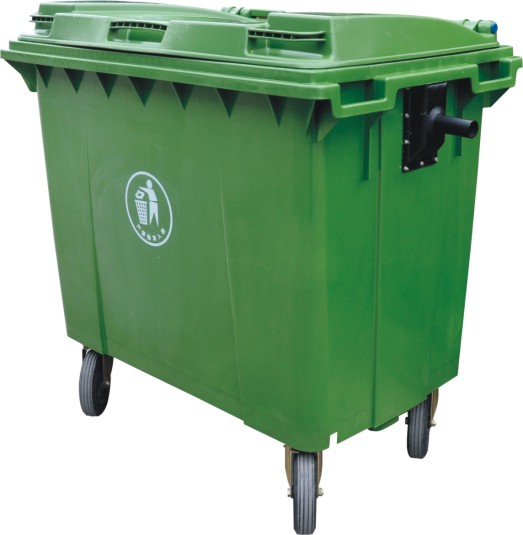 四川垃圾桶-环卫车用垃圾桶660升