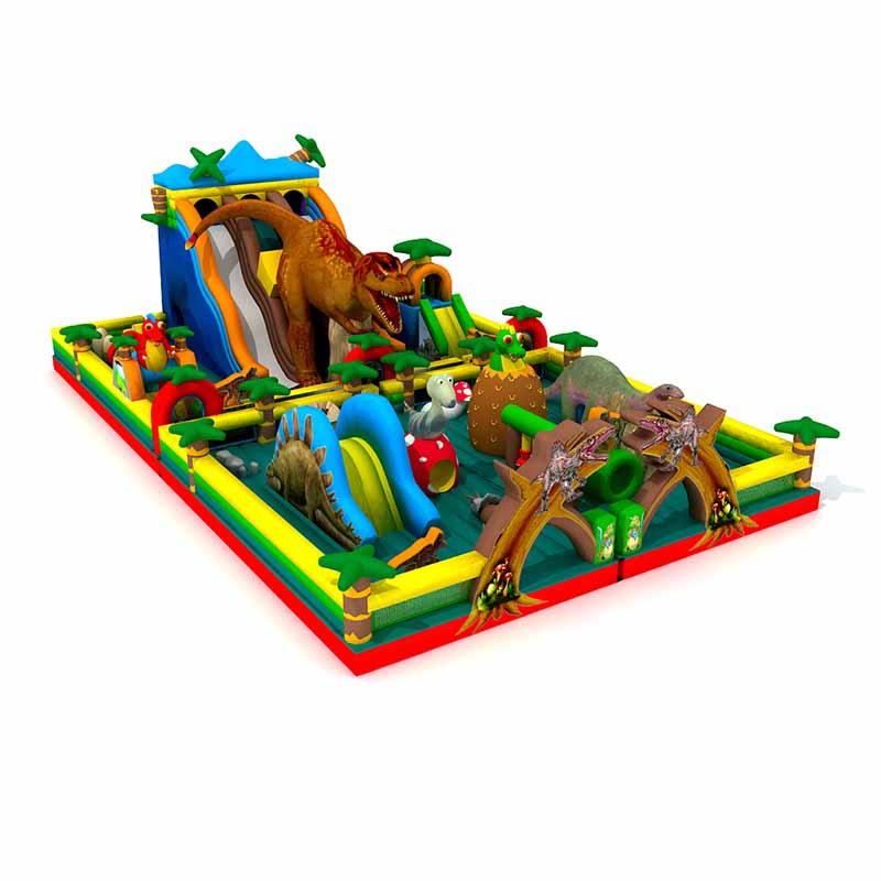 侏罗纪公园娱乐充气城堡