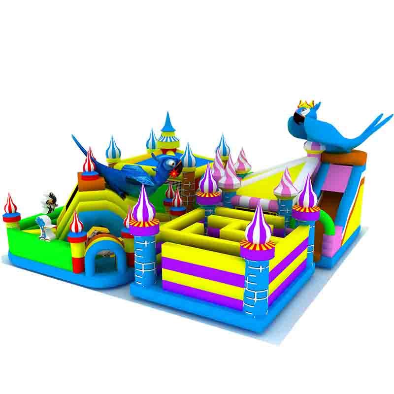 鹦鹉迷宫充气城堡
