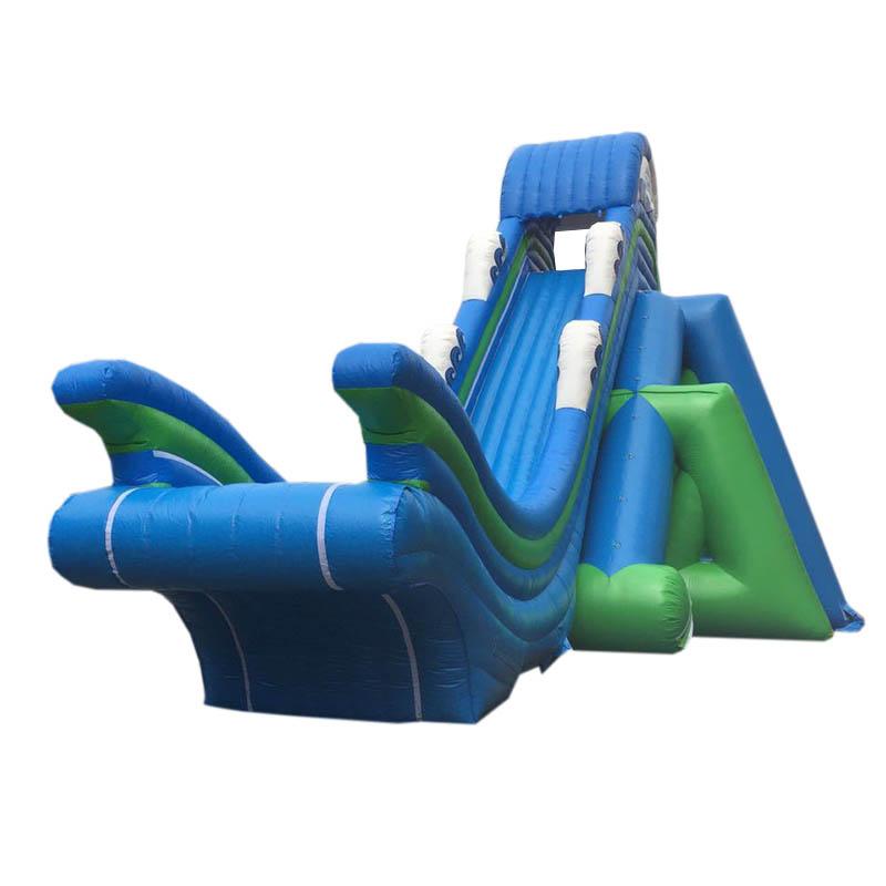 充气大型刺激飞人滑梯