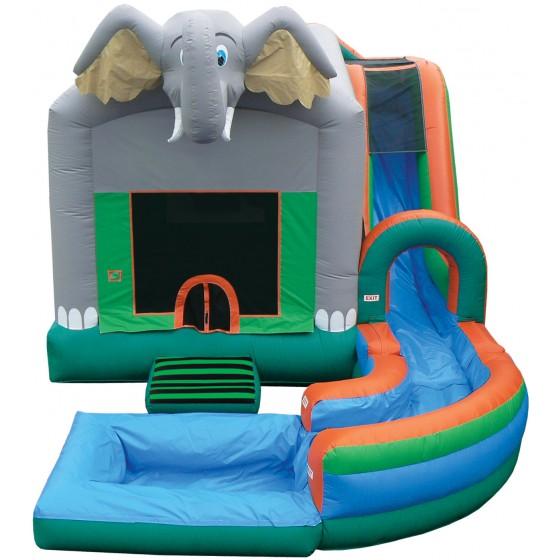 厂家直销大象图案跳床