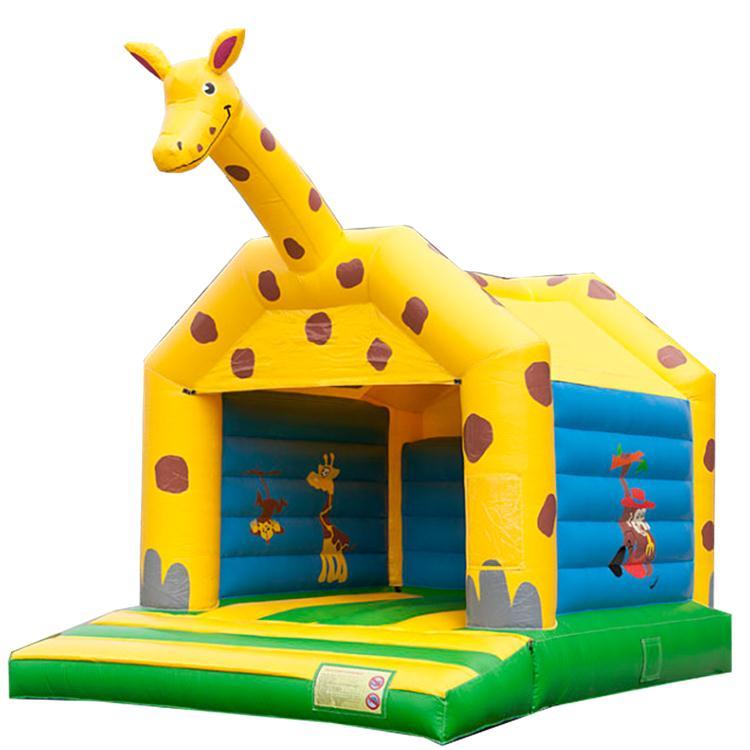 可爱长颈鹿跳床
