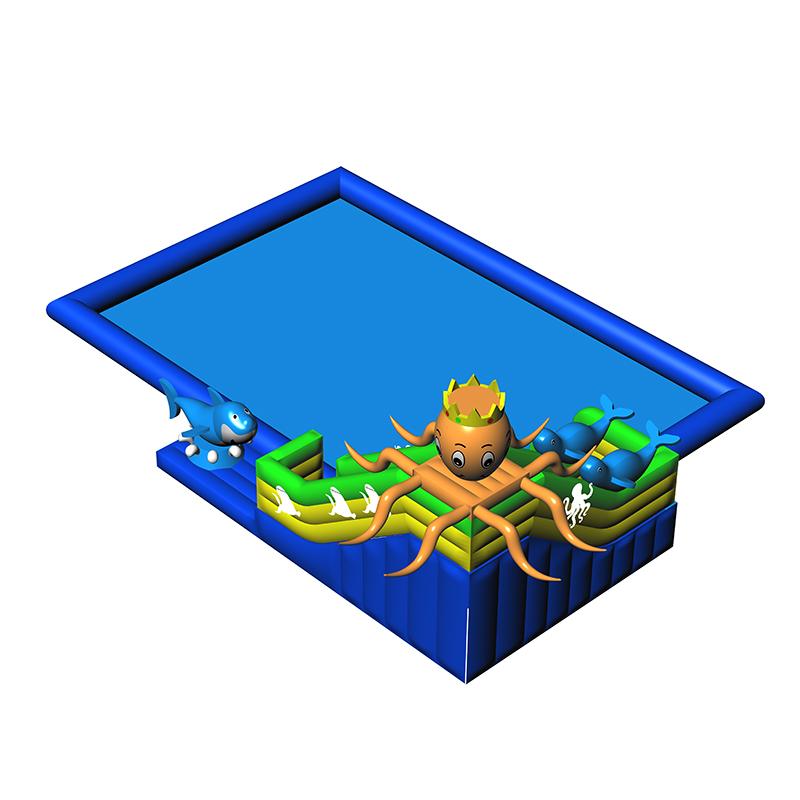 充气水池移动乐园