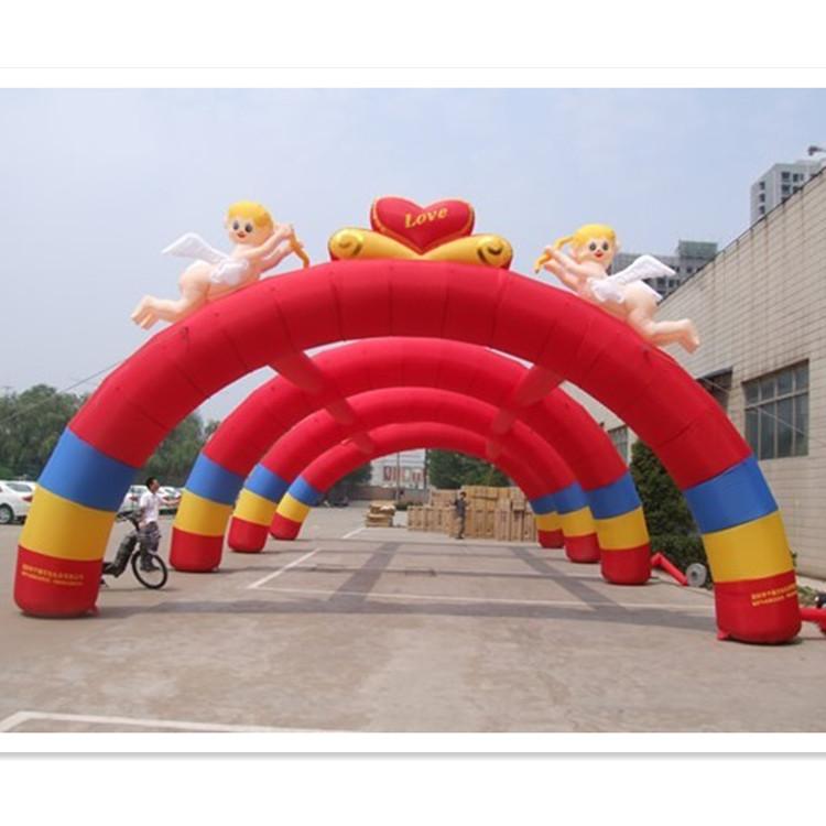 大型连体拱门