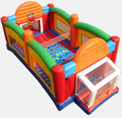 厂家直销室内儿童充气运动气垫玩具