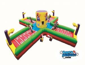 充气趣味运动会玩具
