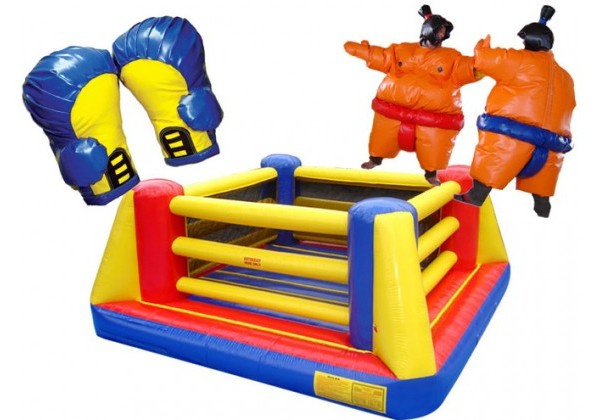小型充气跆拳道运动制品