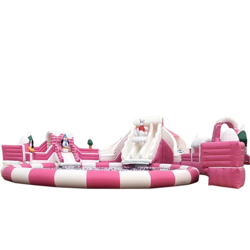 移动乐园_户外大型新款儿童成人游泳玩耍乐园
